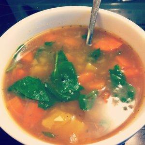 tasty winter soup